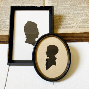 VINTAGE OVAL SILHOUETTE