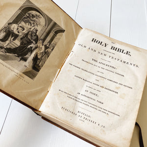 1850 ILLUSTRATED BIBLE