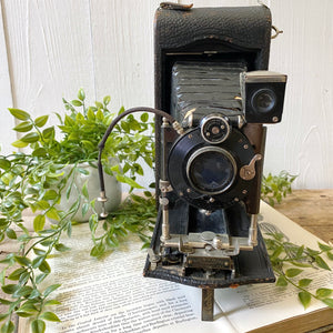 LARGE ANTIQUE CAMERA