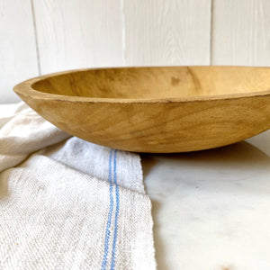 PRIMITIVE WOOD BOWL