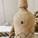 VINTAGE WICKER BOTTLE