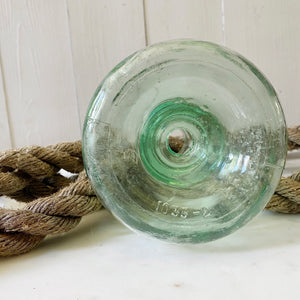 ANTIQUE GLASS FLY CATCHER