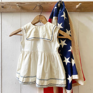 VINTAGE NAUTICAL BABY DRESS