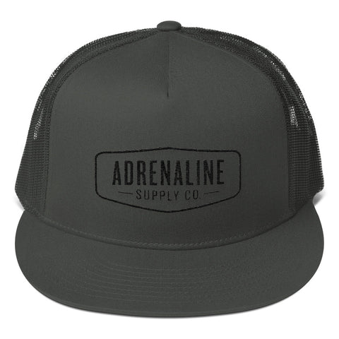 Adrenaline Supply Co. Mesh Back Snapback