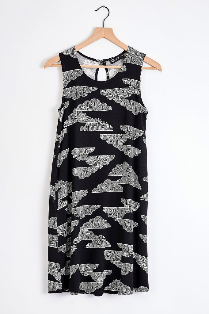 Slit Back Tank Dress