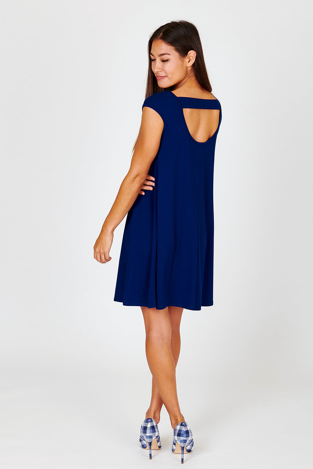 Band Back Swing Dress