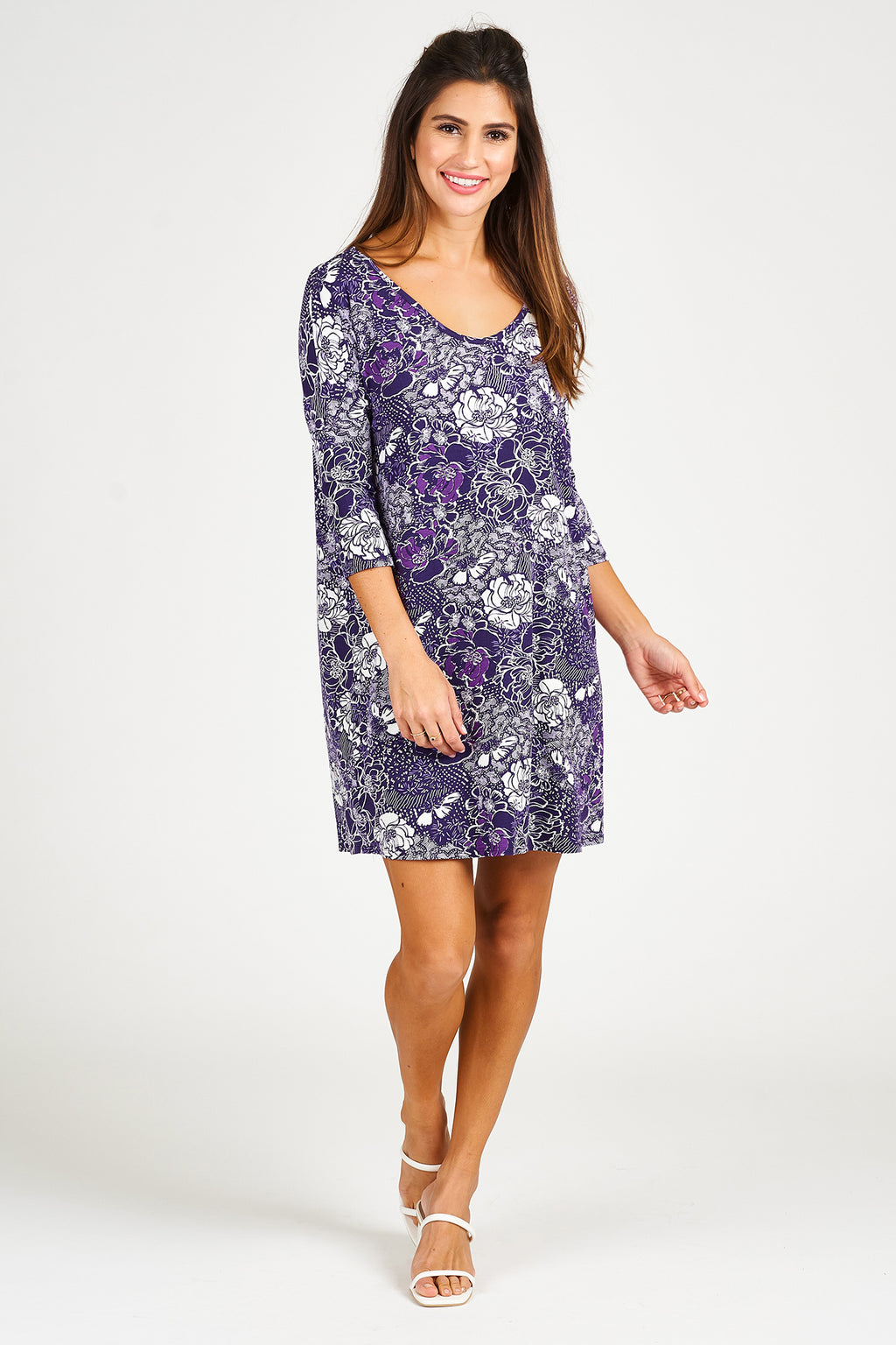 Relaxed T shirt Dress