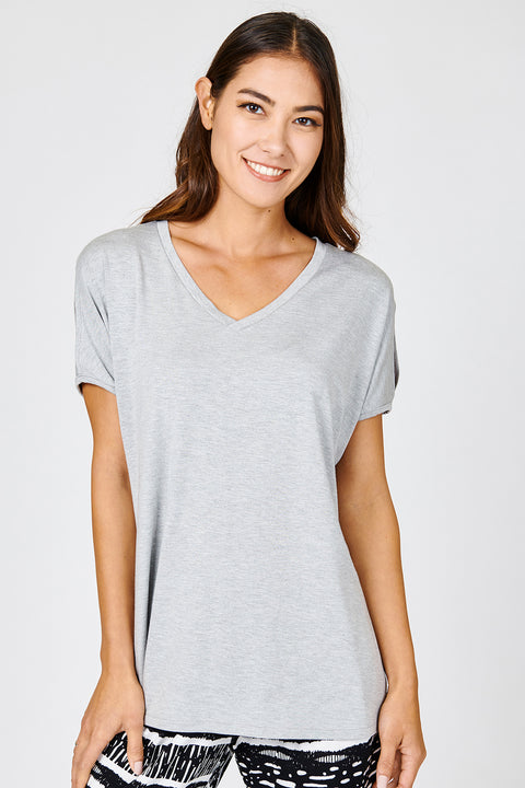 Slit Shoulder Tee