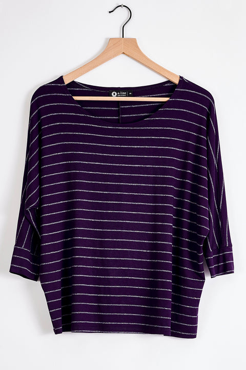 3/4 Sleeve Slouchy Top