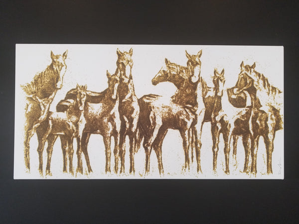 The Wild Bunch (24 x 48) SOLD (2017)