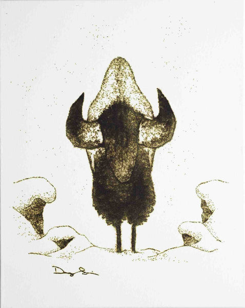 Winter Bison (Prints)