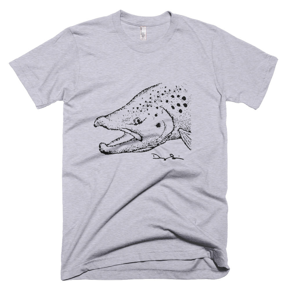 Small Brown Trout Short Sleeve Fine Jersey T-Shirt