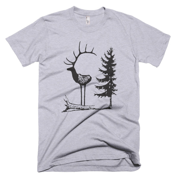 Elk Profile Short Sleeve Fine Jersey T-Shirt