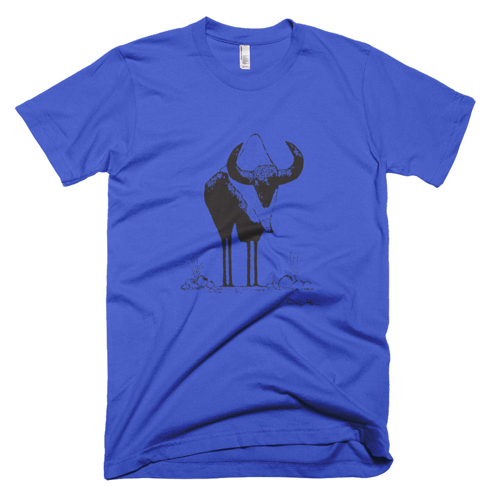 Summer Bison Short-Sleeve Fine Jersey T-Shirt