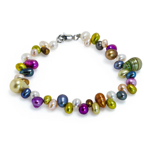 """Liquid Sunshine"" Fresh Water Cultured Pearl Bracelet"