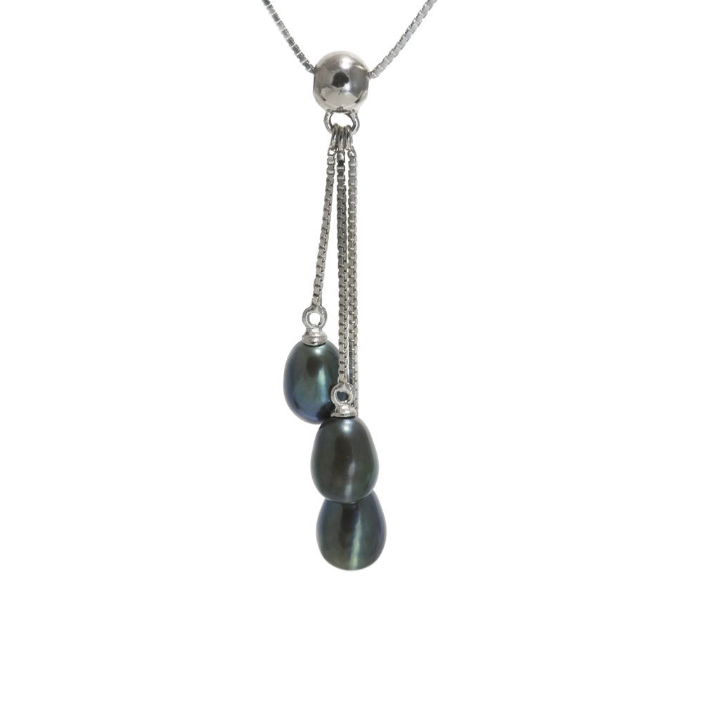 """Waterfall"" Fresh Water Cultured Pearl Necklace"
