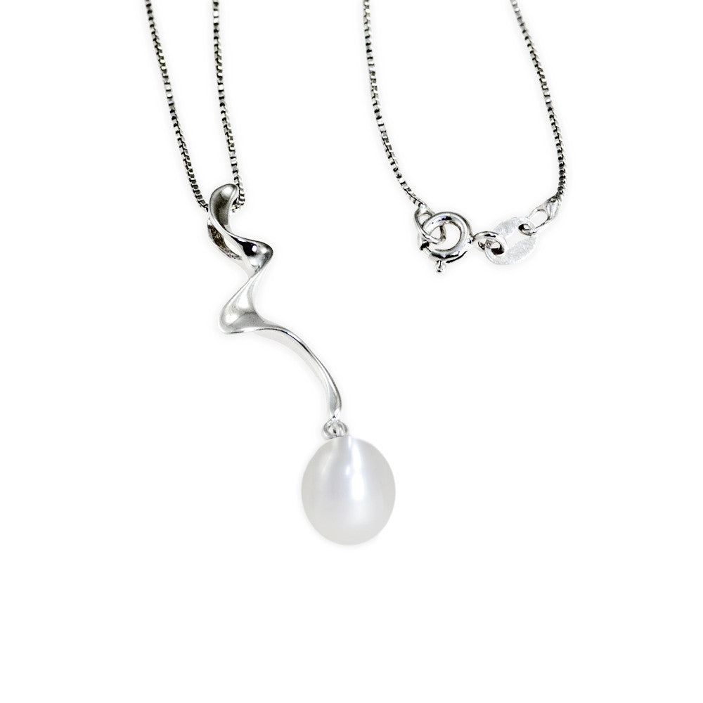 """Free Spirit"" Fresh Water Cultured Pearl Pendant"