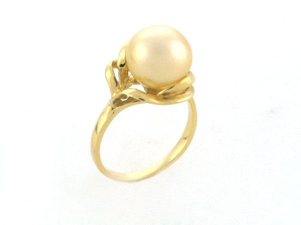 Salt Water Cultured South Sea Pearl Ring 4