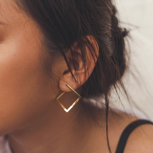 "The ""Boxed In"" Earring"