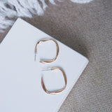 "The ""Be Square"" Earring"