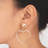 "The ""I Heart You Too"" Earring"