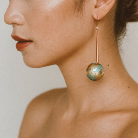 "The ""Our World- Sky"" Earring"