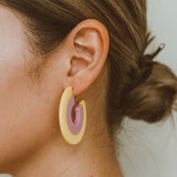 "The ""Pride- Yellow/Pink"" Earring"