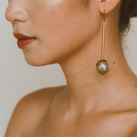 "The ""Our World- Dusk"" Earring"