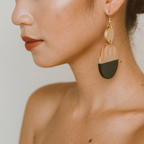 "The ""Head Above Water"" Earring"