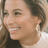 "The ""Hoola Hoops"" Earring"
