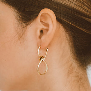 "The ""Infinity Plus One"" Earring"