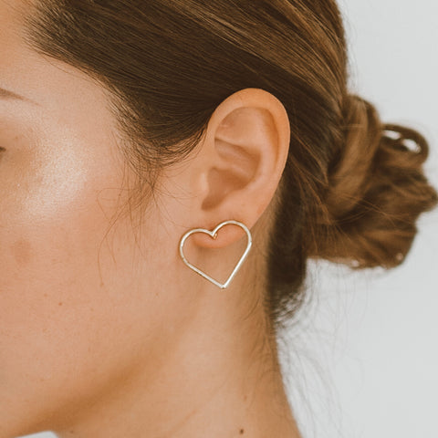 "The ""I Heart You"" Earring"
