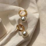 "The ""Drops of Pearl"" Earring"