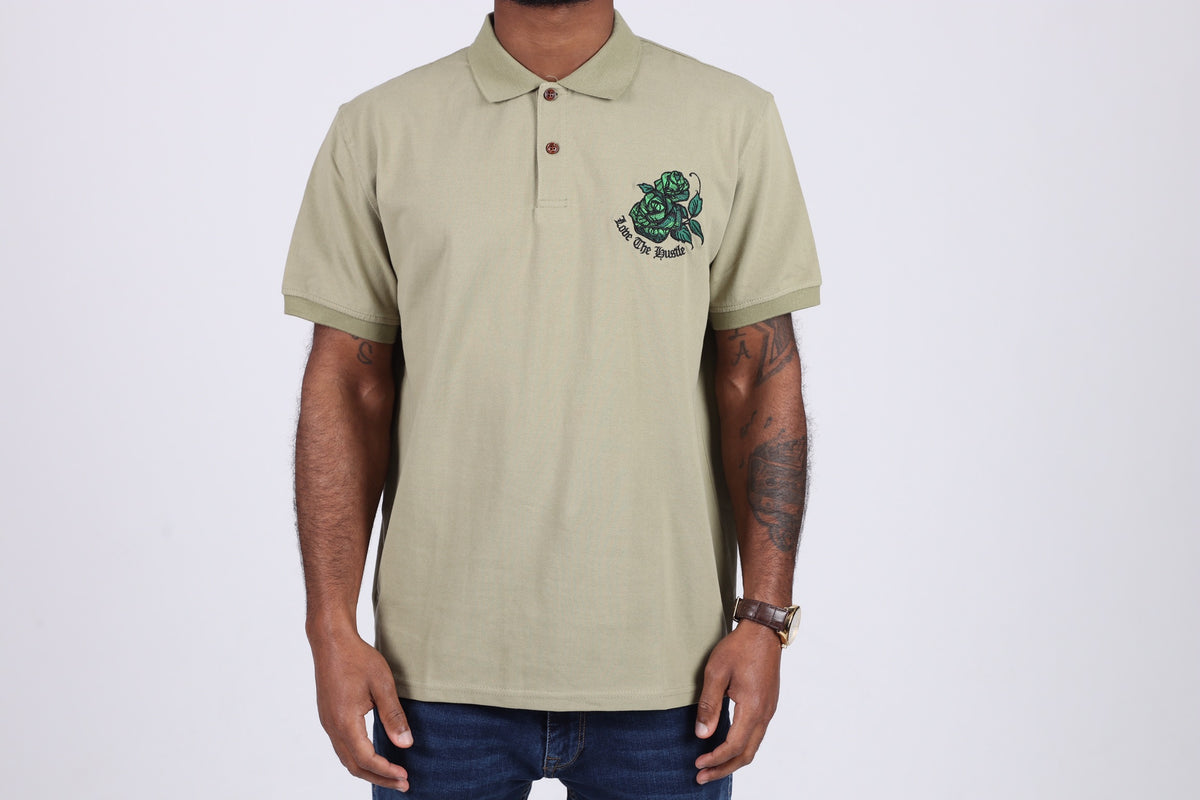 Love The Hustle polo shirt