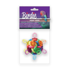 Birdie Binkies Ball Foot Toy Large 11cm Aquatic Supplies Australia