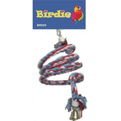 Birdie Jumbo Rope Spiral with Bell Aquatic Supplies Australia
