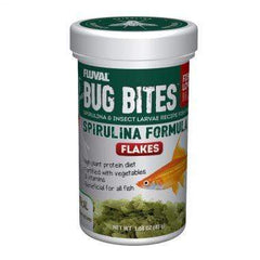 Fluval Bug Bites Spirulina Flakes Aquatic Supplies Australia