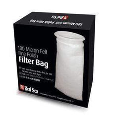 Red Sea 100 Micron Felt Fine Polish Filter Bag 100mm/260mm Aquatic Supplies Australia