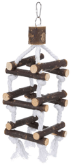 Trixie Natural Living Bird Tower with Rope Aquatic Supplies Australia