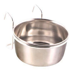 Trixie Stainless Steel Bowl with Holder Aquatic Supplies Australia