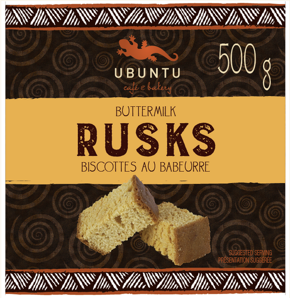 Buttermilk rusks 500g