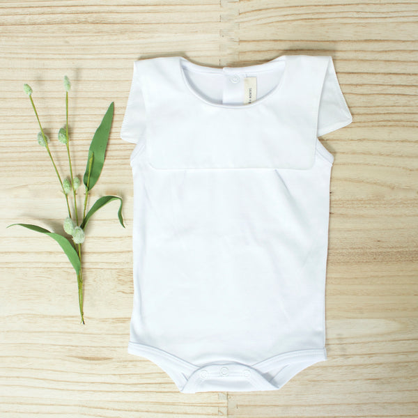 Leo Playsuit- White