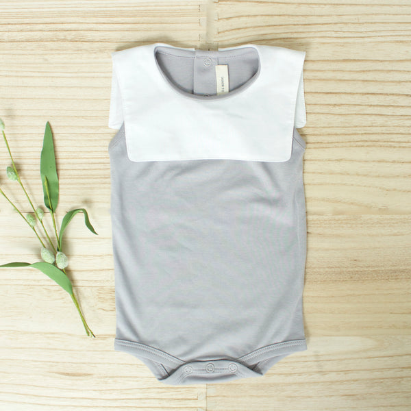 Leo Playsuit- Gray