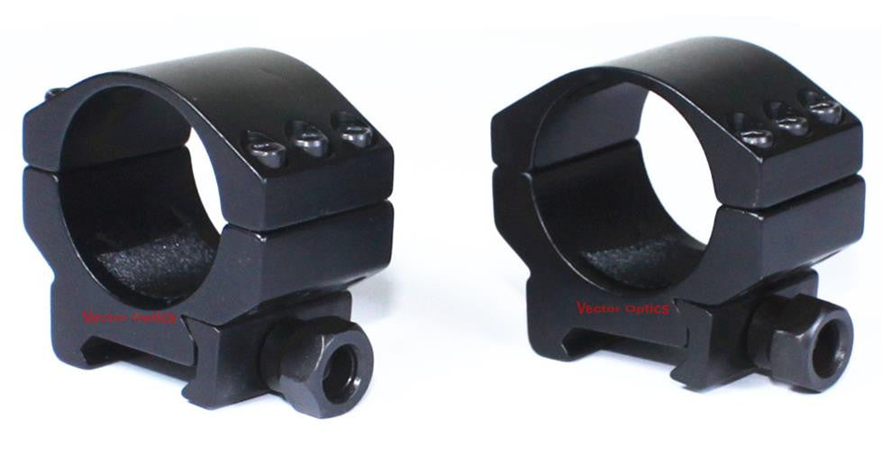 Heavy Duty series 30mm tactical scope ring(low, medium and high)