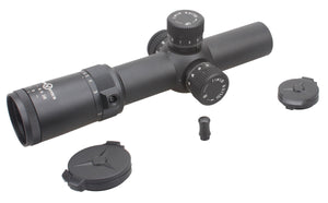 Vector Optics Artemis 1-8x26 FFP CQB/DMR Scope Illuminated ZeroStop 35mmTube