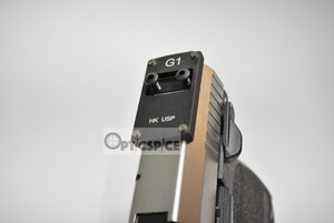 Sphinx (Burris/Docter capable) Red-Dot Pistol Mount Base For HK USP(Full size/Tactical) with Vibra-Tite VC-3