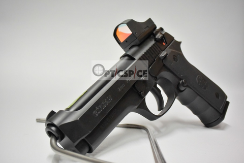 Sphinx (Burris/Docter capable) Red-Dot Pistol Mount Base For Beretta 92 with Vibra-Tite VC-3
