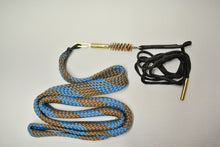 Pistol Caliber Barrel Cleaning Rope with Bronze Brush with Oiled patch, 9mm/.38 cal and more to come