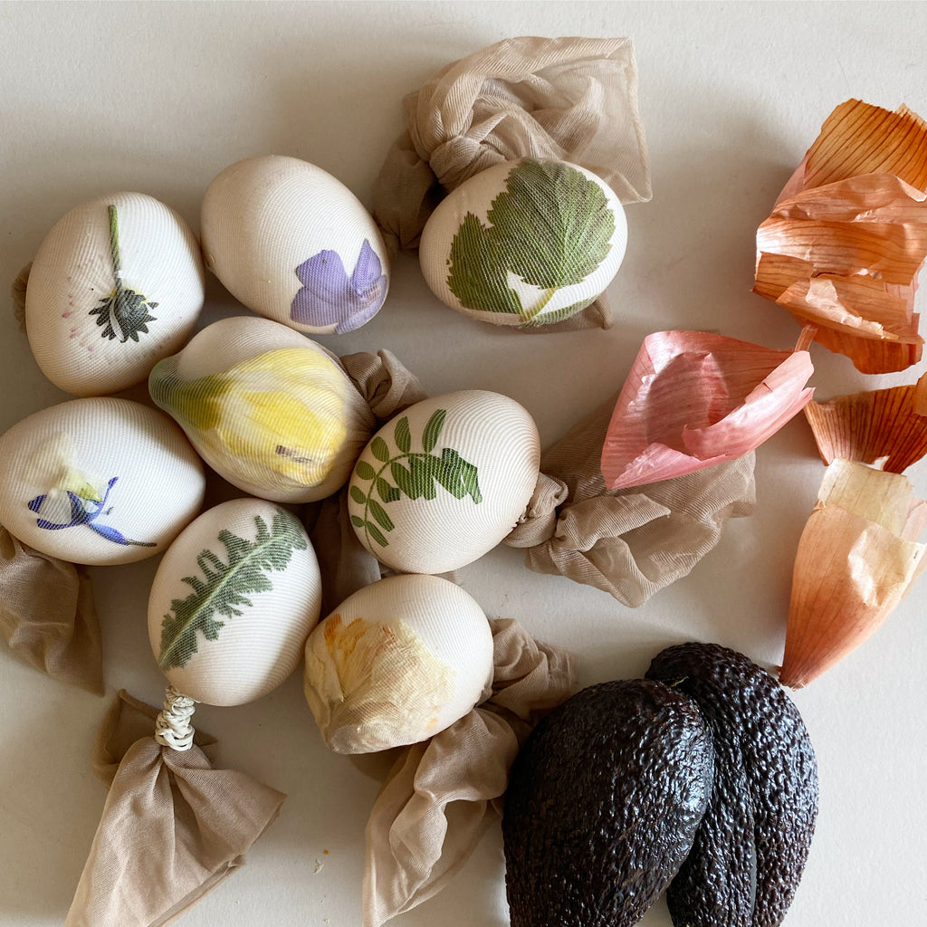 NATURE DYE EASTER EGGS