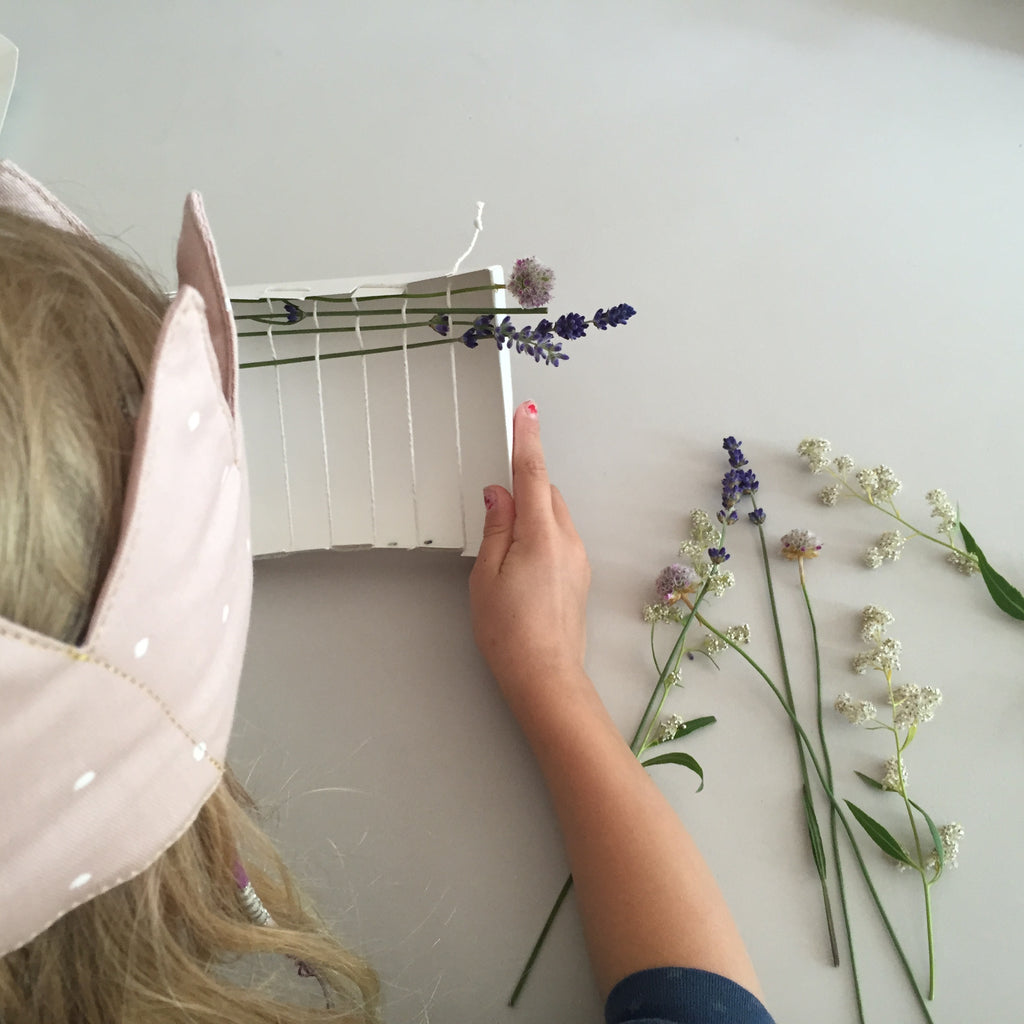 DIY Magical flower craft